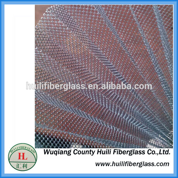 Anti-Mosquito Plisse Insect Screen Mesh/ Fiberglass Pleated Yarn/ Fiberglass Plisee Screen