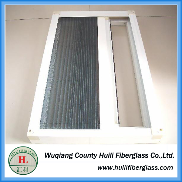 pvc (vinyl) coated fiberglass plain weave screen