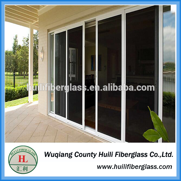 Black stainless steel security window and doors insect screen