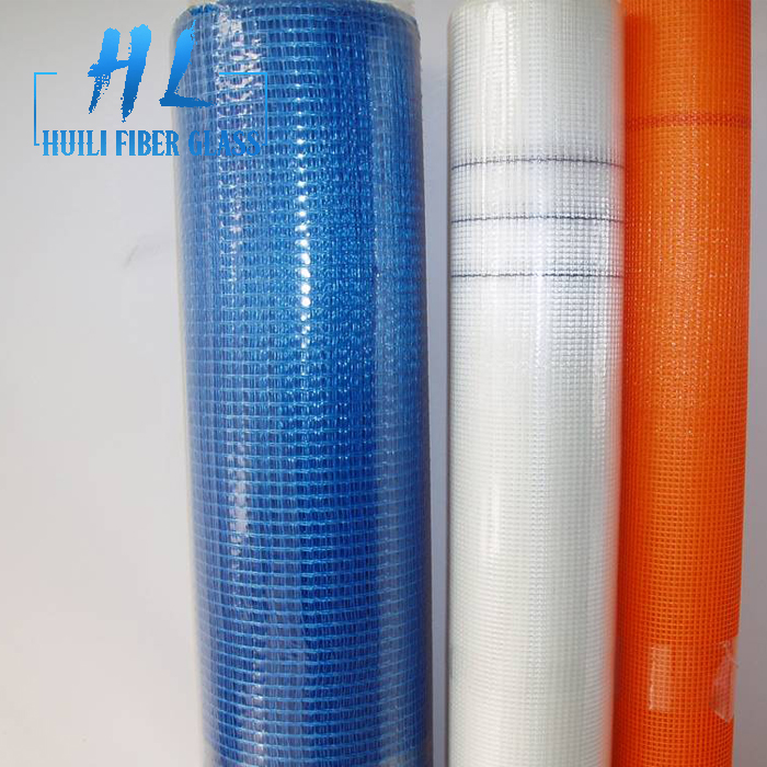 building material 4x4mm 160g orange fiberglass mesh