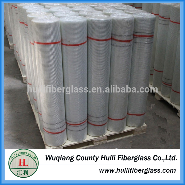 C-glass 5 * 5 external wall insulation fiberglass mesh coated emulsion glue
