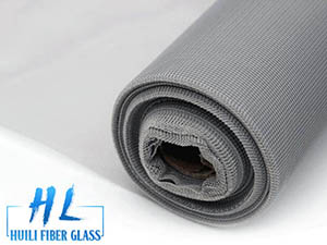 Polyester window screen