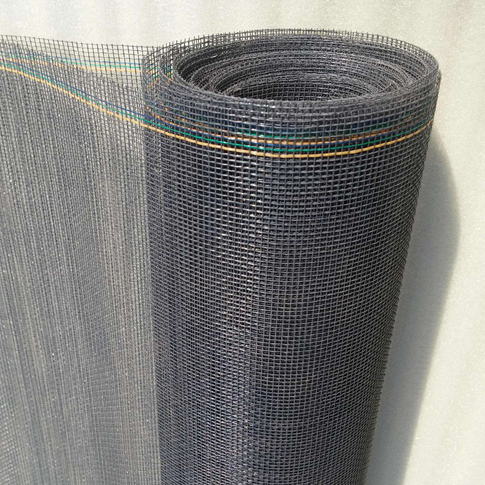 Charcoal 18×16 mesh 1.2m (4ft) wide insect screens for windows or doors