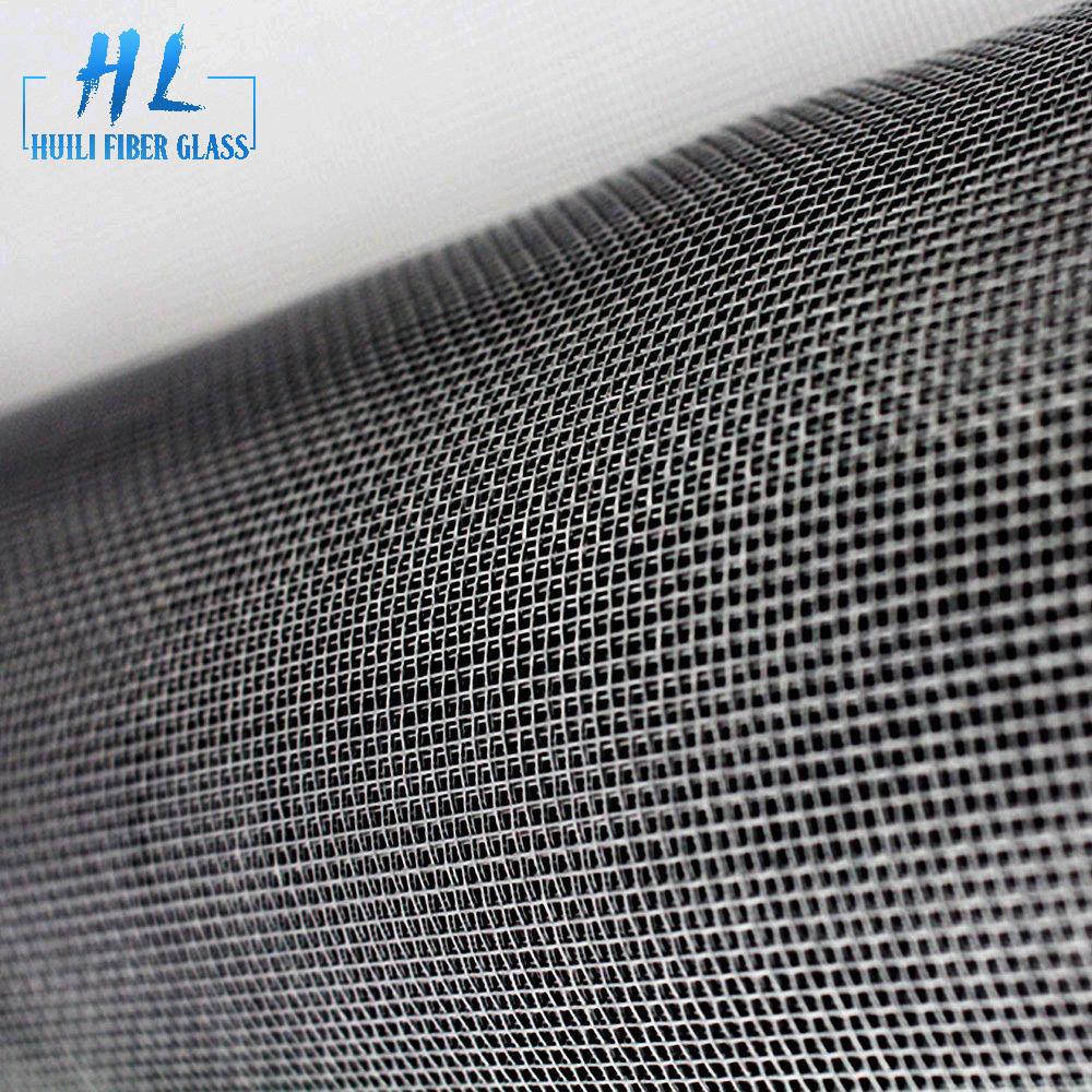 Charcoal fiberglass insect screen window screen for American market