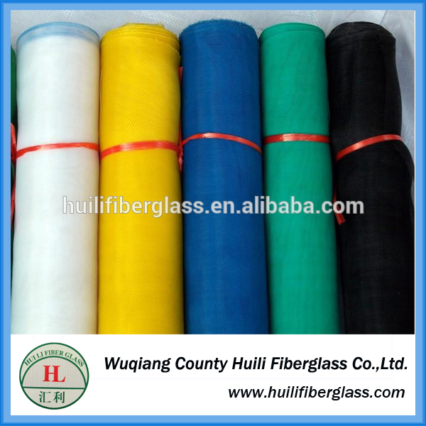 Personlized Products Fiberglass Single Yarn - Cheap!!!! Huili Mosquito Polyester Plisse Insect Screen/Retractable/Pleated Wire Mesh/Folding Net – Huili fiberglass
