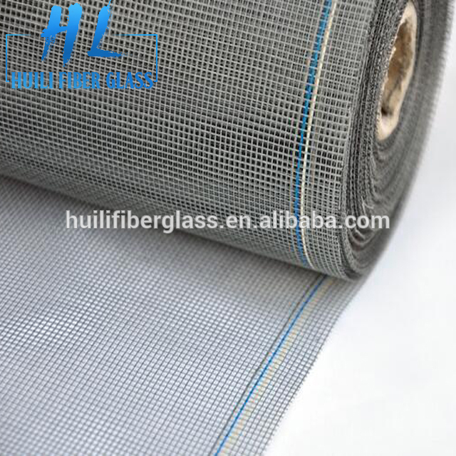 China manufacturer Plastic Colored Anti Mosquito Netting Fiberglass Fly Screen Nylon Window Insect Screen