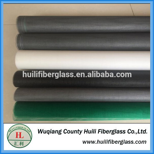 Cheap price Fiberglass Mesh Importer - colorful different size rolling up fiberglass window insect screen – Huili fiberglass