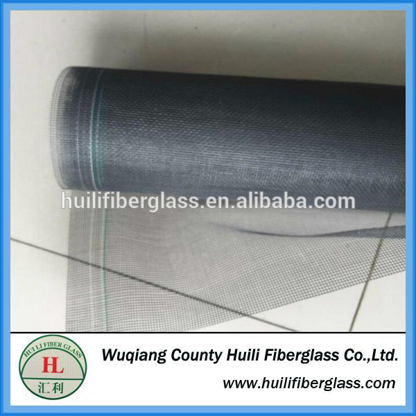 Dark Grey Fiberglass Anti Fly Screen / Fiberglass Anti Fly Wire Net