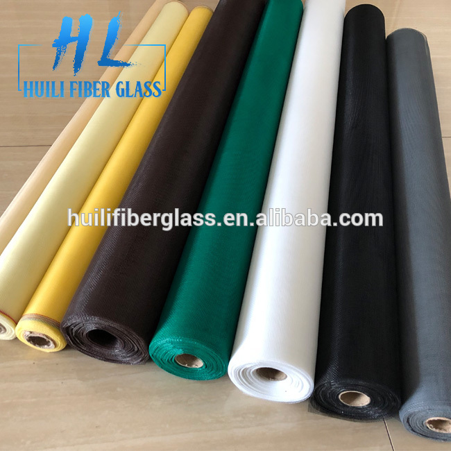 Different color Fiberglass mosquito net17x14 fly window screen