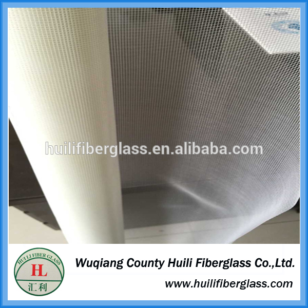 exporter and manufacturer 18*16 white Fiberglass Insect Wire Netting bug screen mosquito screen
