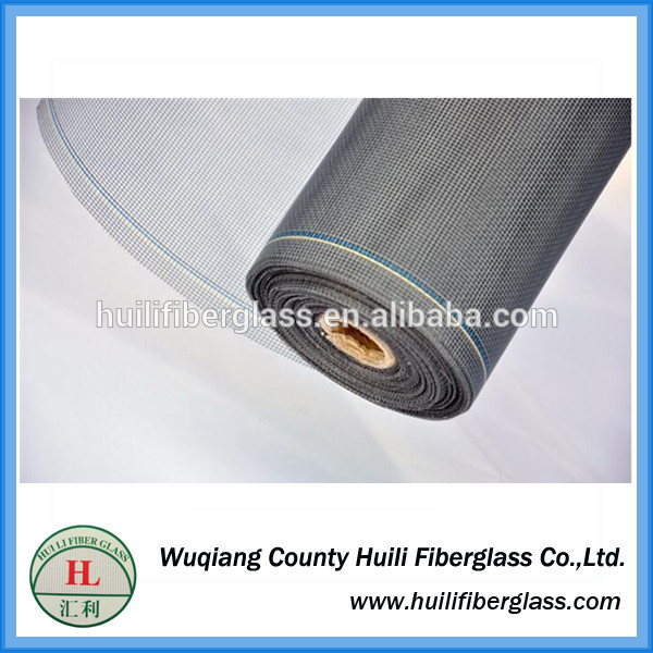 Factory direct sale fiberglass insect screen/window screening grey green color