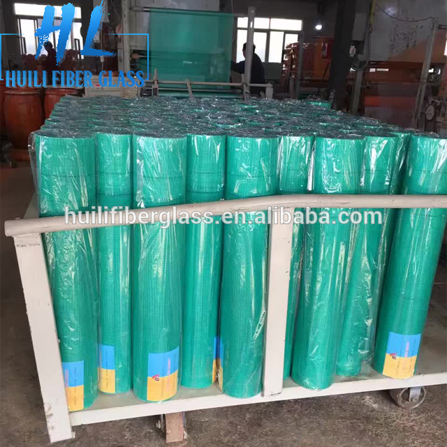factory direct sale price 10X10mm Fiberglass mesh to Egypt