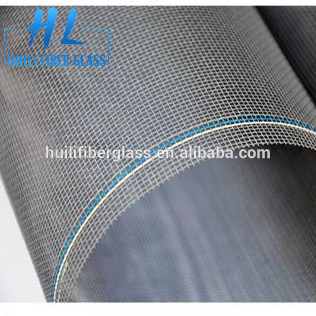 Factory directly sale 18×16 PVC Plastic Coated Fire Resistant Fiberglass Window Screen