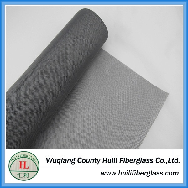 factory price Fiberglass invisible window screen material