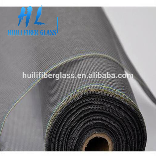 Factory Supply PVC Coated 18*16 110g Window insect Fiberglass Screen Mesh