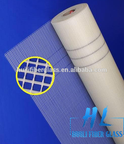 Factory best selling Price Of Fiberglass E Glass Fibre Roving - fiber concrete mesh, reinforced fiberglass mesh 1x50m 160gsm 5x5mesh orange color – Huili fiberglass