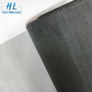 5ft x 100ft Grey 18*16 PVC Coated Fiberglass Window Screen