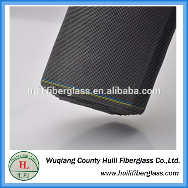 fiberglass insect screen/115g/120g pvc coated fiberglass window screen in door and windows 1*30m/roll