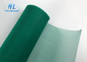 Green color fiberglass insect screen mesh 120g with best quality