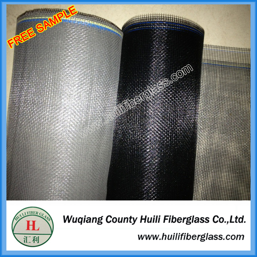 fiberglass material roll-up fly screen for window screen door