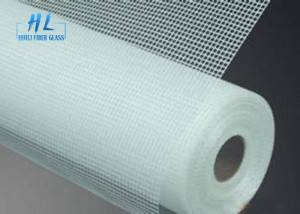 5x5mm 145g Fiberglass Mesh White Color