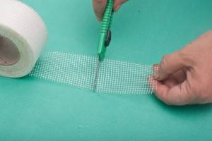 Self adhesive Fiberglass Mesh Tape for Wall use