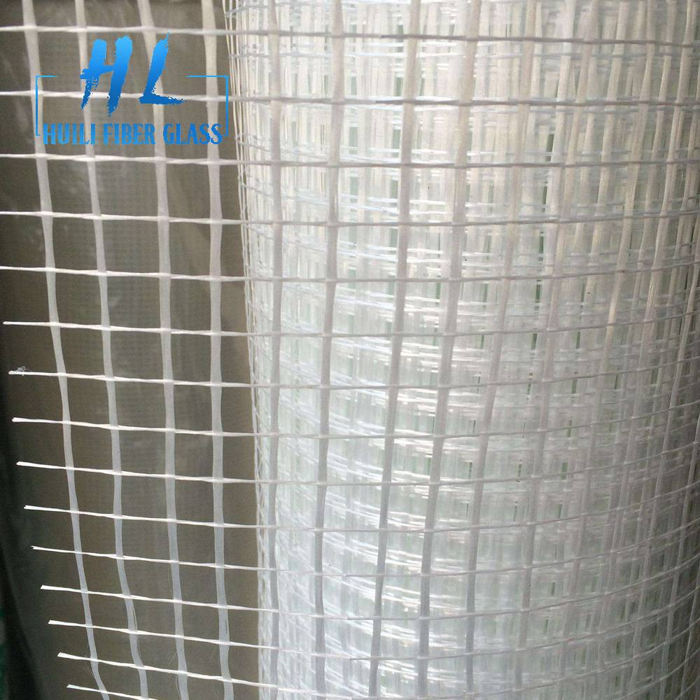 110g 10x10mm white fiberglass mesh roll for mosaic Featured Image