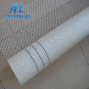 75g 5x5mm white fiberglass mesh fabric