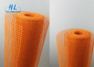 4x4mm 160g 145g 120g Fiberglass Mesh Brown Color With Low Price