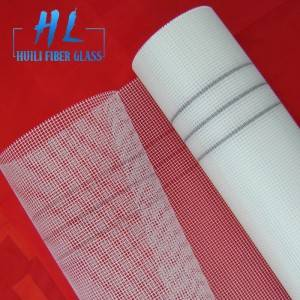 145g 5x5mm white fiberglass mesh for plaster and render