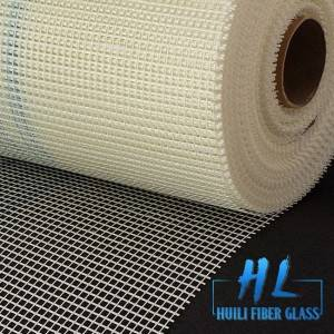 Great tensile strength alkali resistant reinforced fiberglass mesh roll fiber glass net