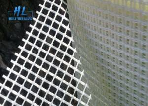5*5MM Fiberglass Mesh Net High Temperature Resistant White Color