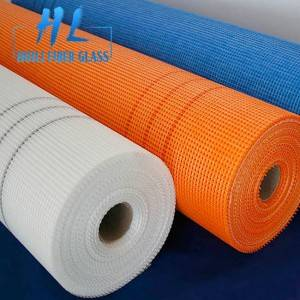 Fiberglass mesh 160gsm / glass fiber mesh 4x4mm with latex coated