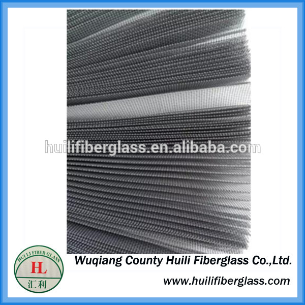Factory source Roof Teflon Fiberglass Fabric - Fiberglass plisse screen window and door accessory – Huili fiberglass