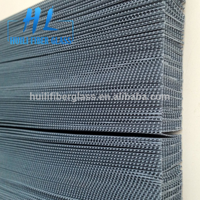Fiberglass/polyester material plisse window insect screen /pleated mosquito screen mesh
