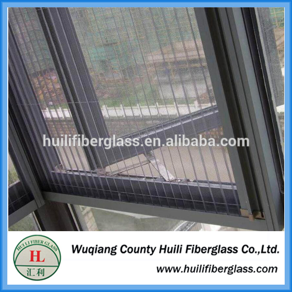 fiberglass price high quality and fold fiberglass window screen/pleated net/pleated window screen