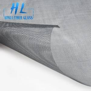 90g 110g Grey Black Color 18*16 Fiberglass Insect Window Screen