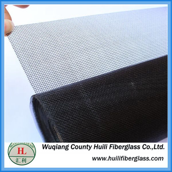 Fiberglass stealth screens high grade office building invisible window screen