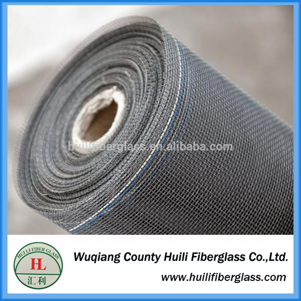 Fiberglass window insect protection mesh roll 1*30m/roll 18*16 fly screen mesh