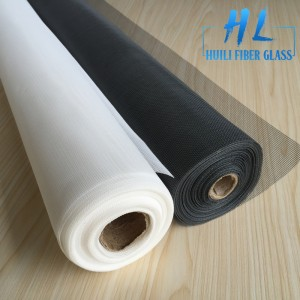 Black Charcoal Color Fireproof Fiberglass Windows Screens