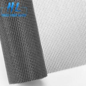 Anti Mosquito grey color 18×16 fiberglass insect screen mesh