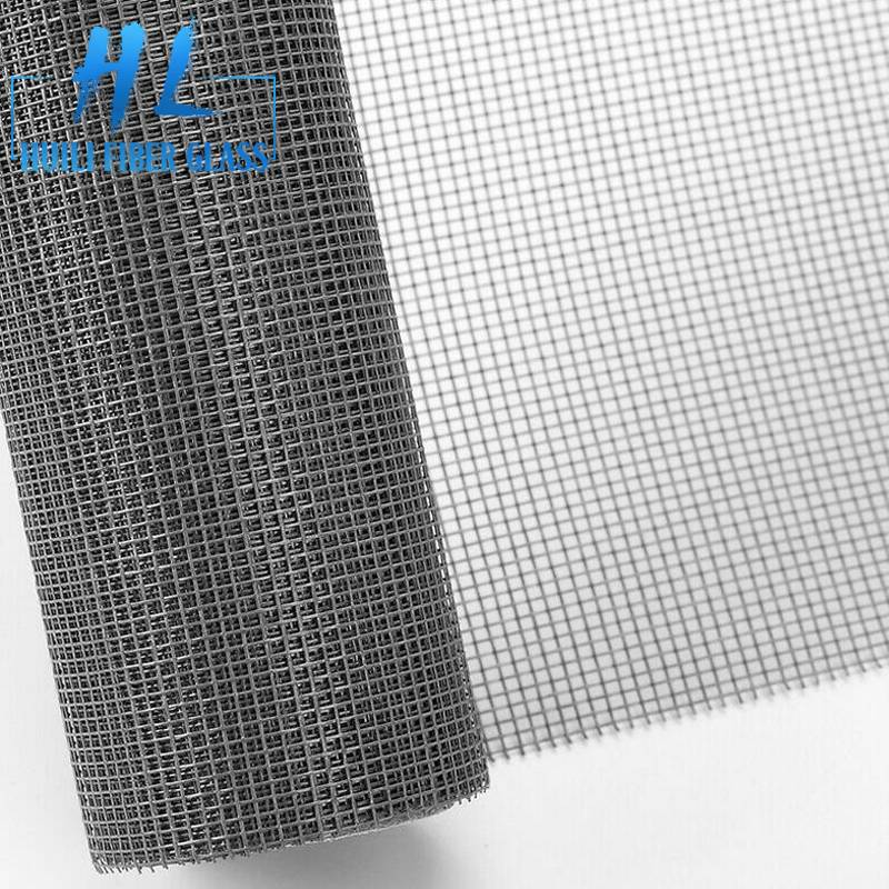 18x16mesh 110g fiberglass window screen 1.2m x 30m grey color Featured Image