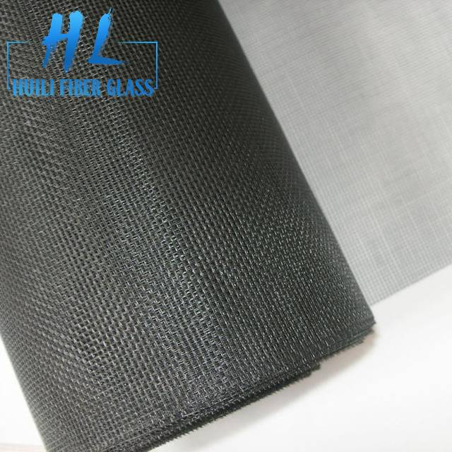 1.5x30m black color fiberglass mosquito net insect screen factroy Featured Image