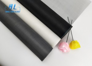 18*16 Mesh PVC Coated Insect Fiberglass Window Screen