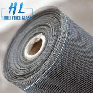 High quality 18X16 120g/m2 invisible fiberglass window screen