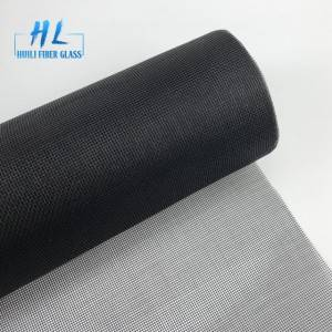 1.5x30m black color fiberglass mosquito net insect screen factroy