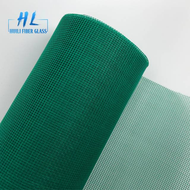 18*16 Mesh 110g/m2 FiberGlass Window Screen Insect Mosquito Screen Featured Image