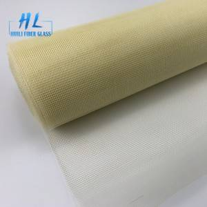 Flame retardant fiberglass window screen mesh 120g/m2 with good quality