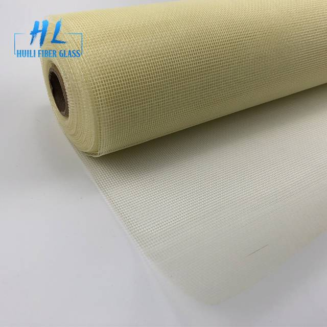 Fiberglass fly mesh window screen 100g/m2 with best quality used for window and door Featured Image
