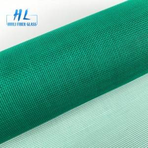 Green color dust proof fiberglass mosquito net insect window screen